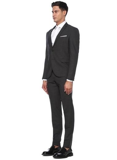 Neil Barrett Neil Barrett  Kelebek Yaka Takım Elbise 101546449 Gri